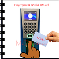 Free Shipping Biometric Door Security Management System ZK F18 Biometric Fingerprint Access Controk with EM rfid Card Reader