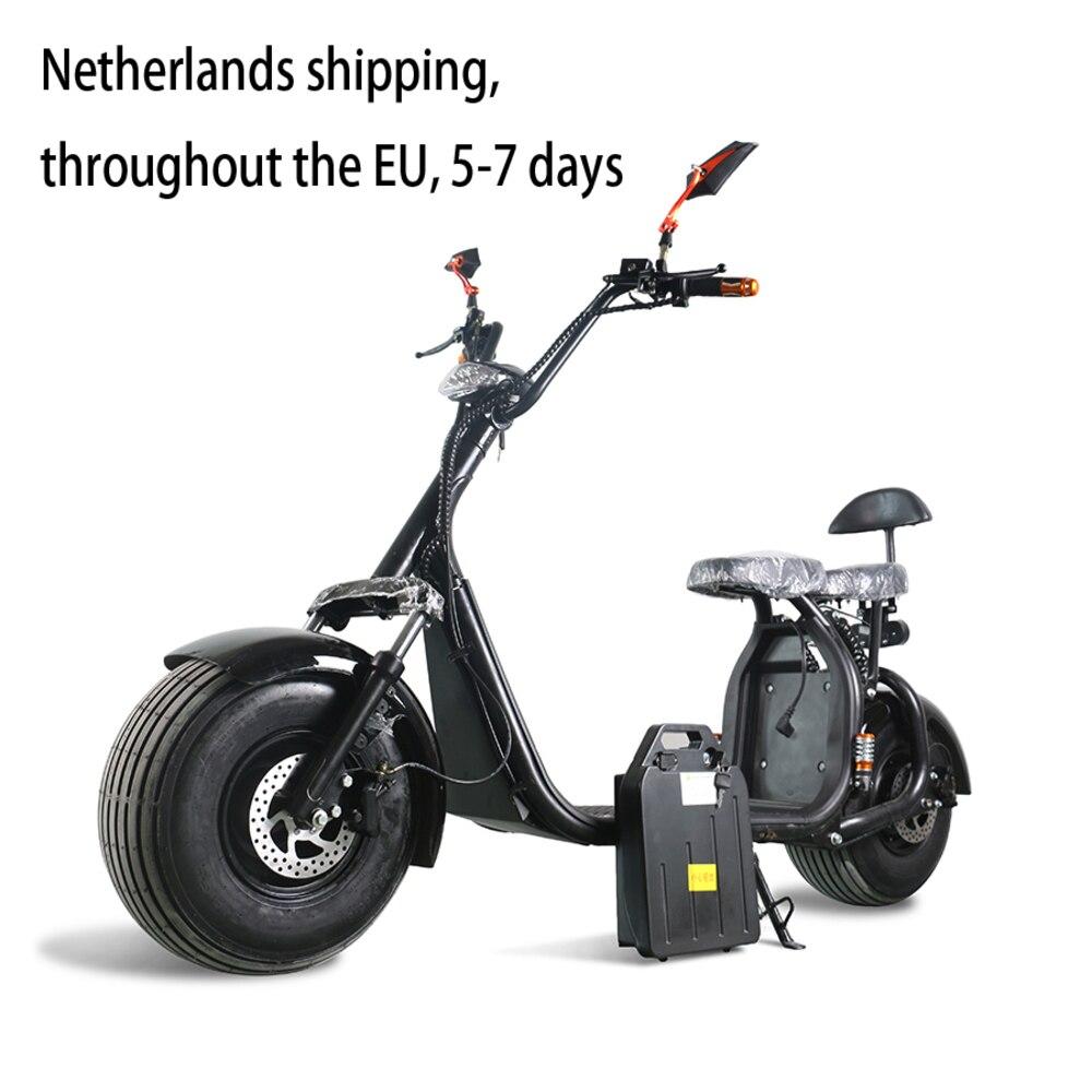 SC11/Harley электрический скутер/два колеса мини взрослых Электрический car/внешнего аккумулятора автомобиля/гидравлические дисковые тормоза