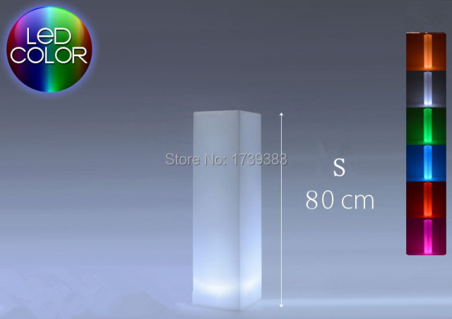 aliexpress : buy led square light tower pillar medium cylinder