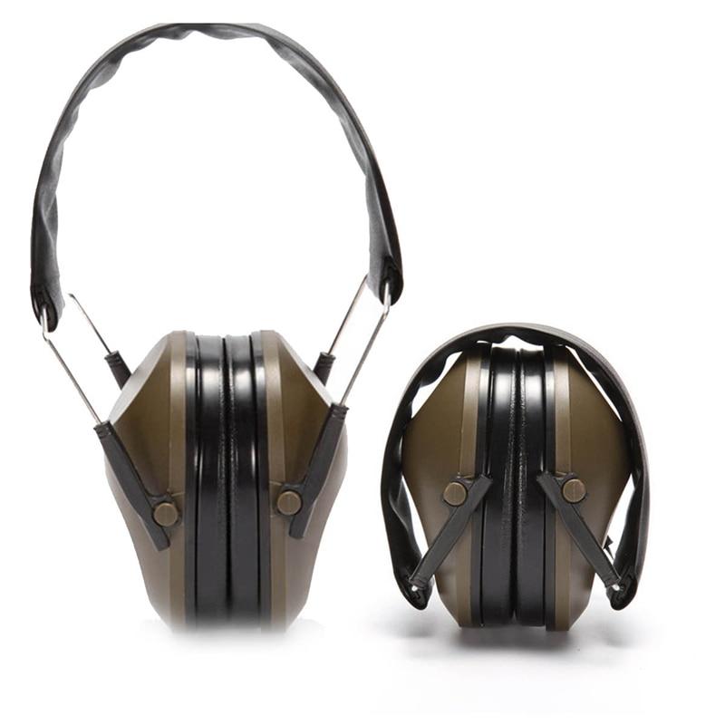 Neue Anti-lärm Ohren Ohrenschützer Outdoor Tactical Jagd Schießen Gehörschutz Muff Schalldichte Jagd Sets/garnituren Sport & Unterhaltung