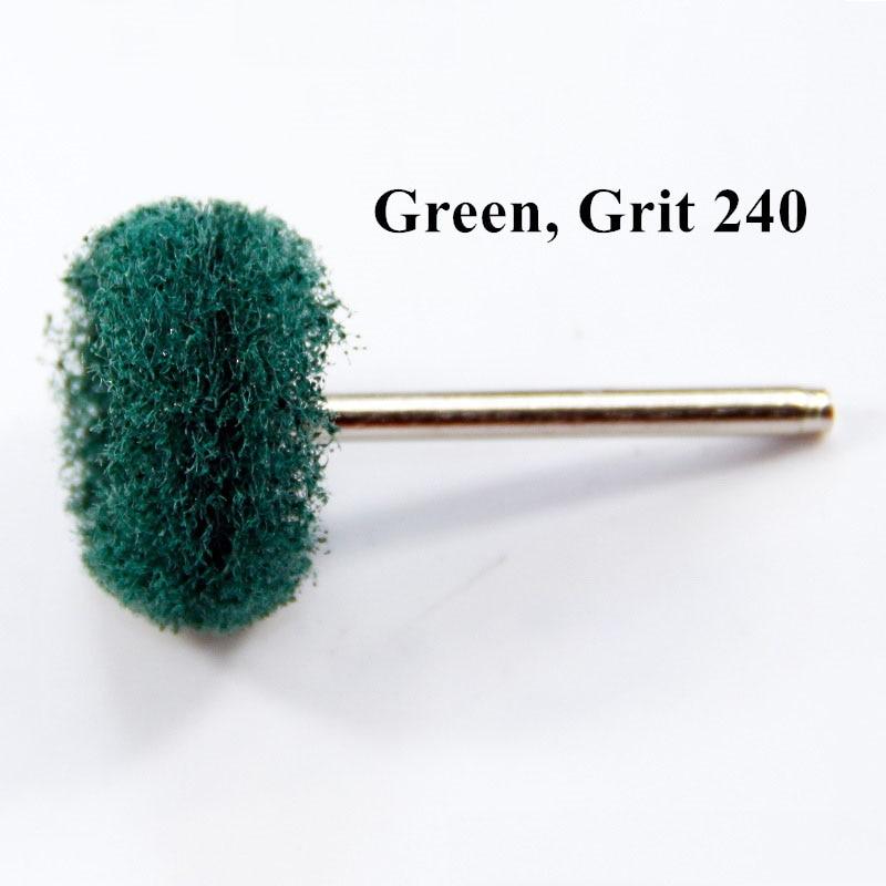 25 vnt šlifavimo šlifavimo nailono šepečių poliravimo ratai, 3,2 - Abrazyviniai įrankiai - Nuotrauka 2