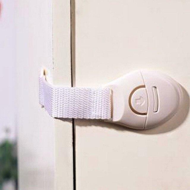 10 unids/set de pestillo de seguridad wc muebles del gabinete de seguridad para niños niño bebé cierre de seguridad plástico bloqueo de protección