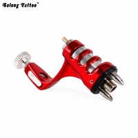 Solong Tattoo HYBRIDE Rotary Tattoo Machine Gun Taiwan Motor voor Shading Lining Coloring Rode M632-2