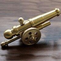 Высокое Качество Латунь Наполеон Cannon украшения для повседневного использования, кемпинг карманный инструмент Cafe стол штук бар украшения р