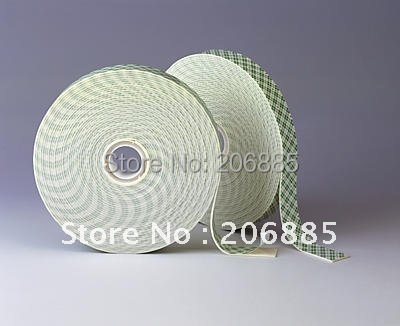 100% Original 3M 4026 double sided pe foam tape with white color 20mm*33M*5rolls We can offer you other size original contec dio 3232l pe