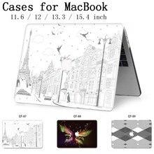 Nouveau 2019 pour ordinateur portable MacBook Case housse housse tablette sacs pour MacBook Air Pro Retina 11 12 13 15 13.3 15.4 pouces Torba