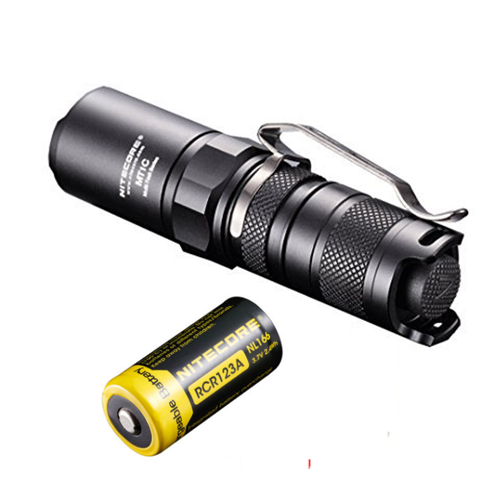 Flashlight NITECORE MT1C CREE XP-G2 R5 max 345LM beam distance 152 meter led outdoor tactical torch light for law enforcement nitecore mt20c tactical flashlight cree xp g2 r5 max 460 lumen beam distance 180 meters outdoor torch h battery charger