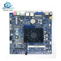 Mini ITX 17x17cm Motherboard Mini Celeron N2830 2.0GHz cooling fan DDR3 Desktop Mainboard ITX Motherboard Onboard CPU PCI E