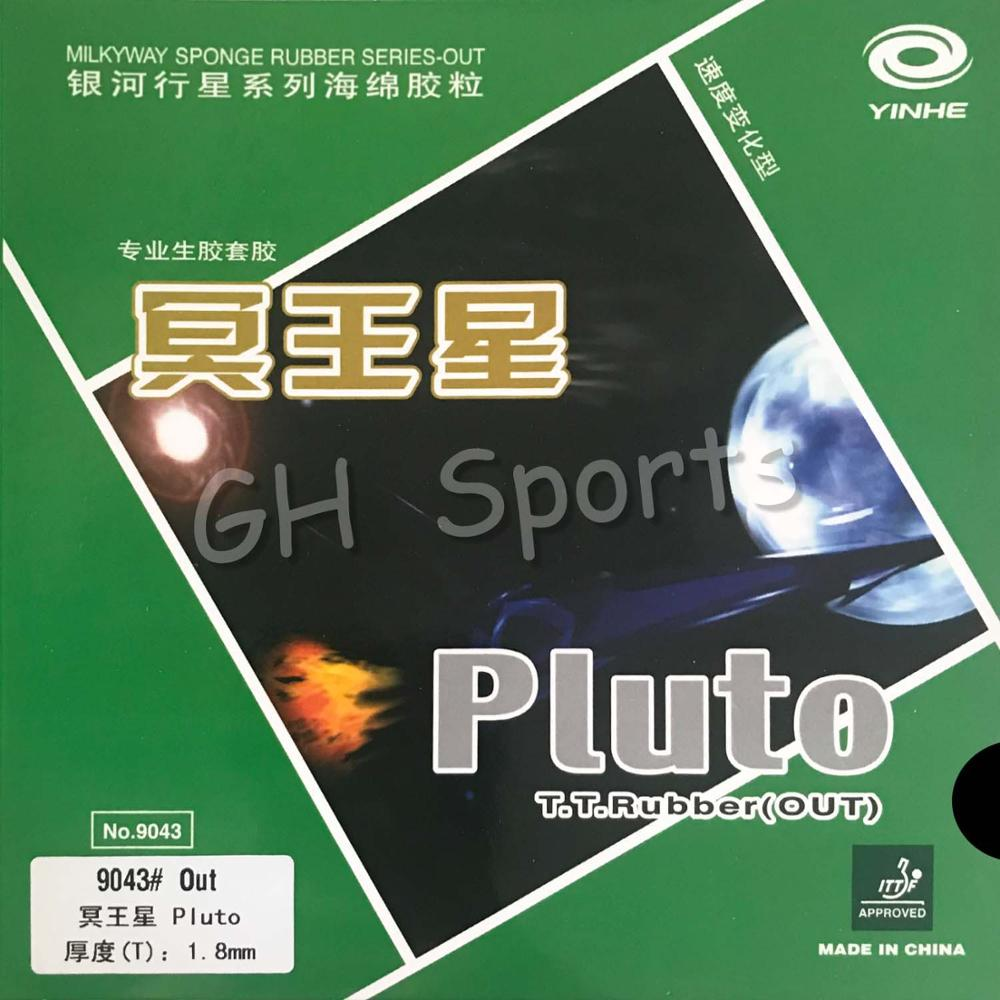 Galaxy Milky Way Yinhe Pluto Medium Pips-Out Table Tennis PingPong Rubber With Sponge