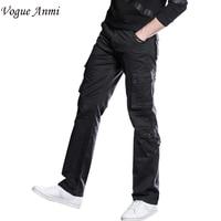 Vogue Anmi Hosen männer Cargohose Beiläufige Hose Multi Pocket Military Insgesamt Männer Im Freien Hohe Qualität Lange Hosen