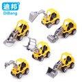 6 pçs/set Marca de veículos de Construção modelo de caminhão carros de brinquedo para crianças Brinquedo Modelo de plástico de Qualidade presentes de Natal presente de Natal