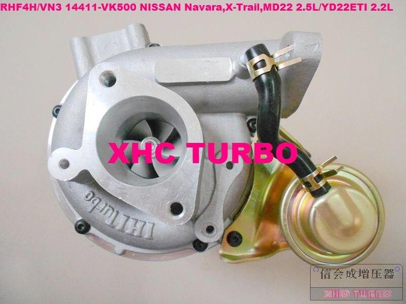 NEW RHF4H VN3 14411 VK500 Turbocharger Turbo Turbine for NISSAN Navara 2.5DI X Trail 2.2DI MD22 2.5L/YD22ETI 2.2L|turbine turbocharger|turbine drill|turbine model - title=