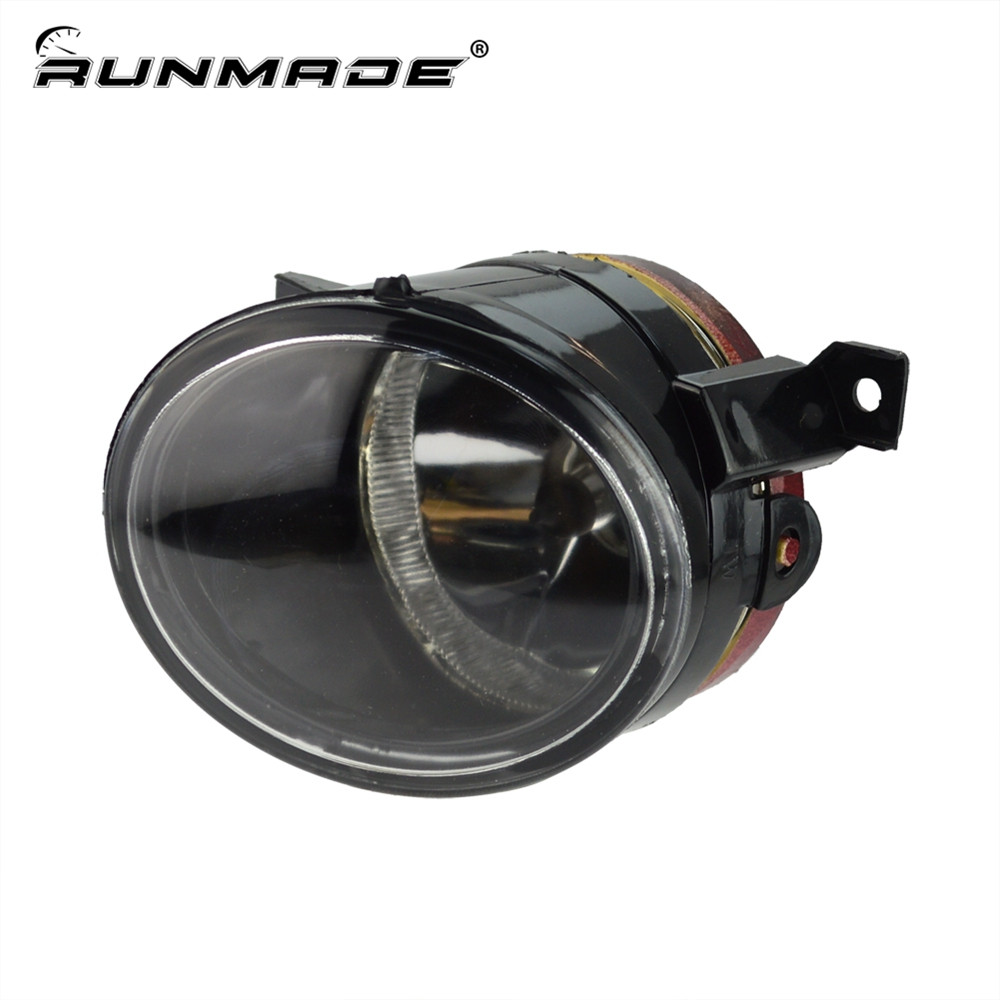 runmade For VW Jetta Bora Mk5 GTi Front Bumper Fog Lamp Driving Light Left Side L1KD 941 699 runmade 1pair fog lights for 2006 2010 vw passat b6 3c clear lens front fog lamp driving lamp left