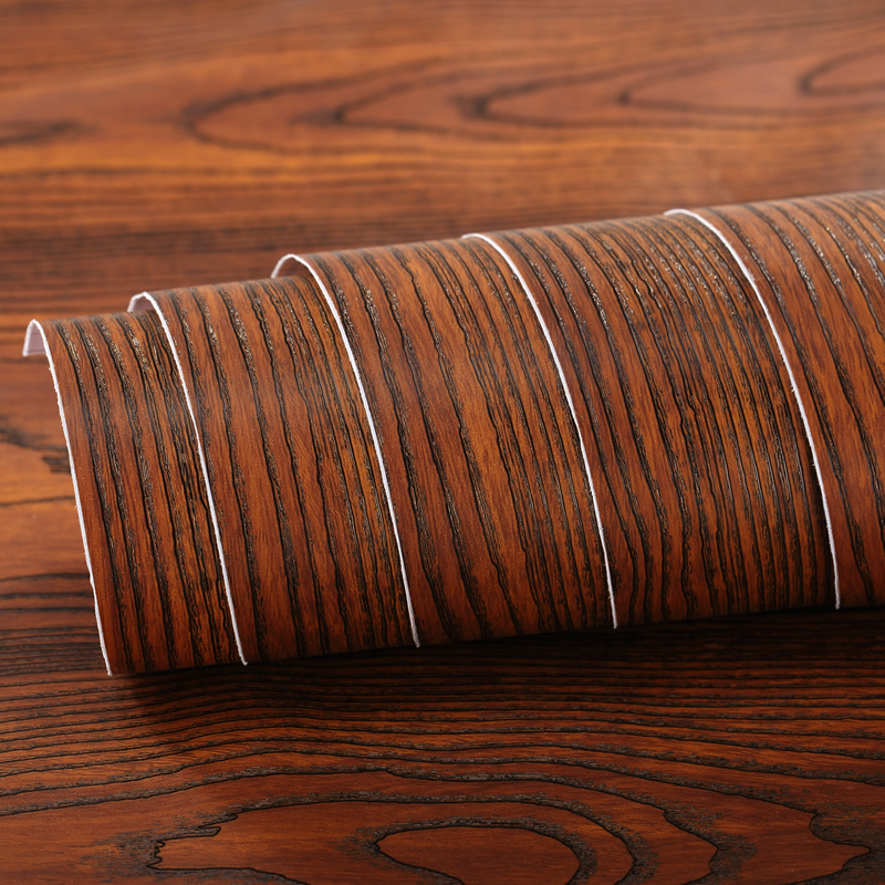 Pvc self adhesive sticker rosewood 3d wood wallpaper for 3d wood wallpaper