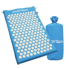 Back and Neck Pain Relief – Acupressure Mat and Pillow Set – Relieves Stress, Back, Neck, and Other Body Pain Massage