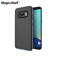 100 Original Anti Knock Protection Phone Cover Case For Samsung Galaxy S8 S8 Plus PC TPU