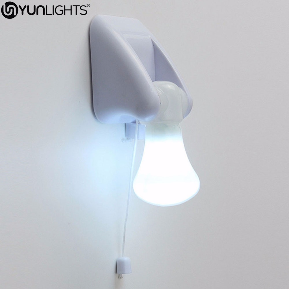 medium resolution of detail feedback questions about yunlights portable wire led bulb cabinet lamp night light battery operated self adhesive wall mount light on aliexpress com