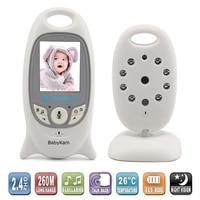 New 2 0inch Video Baby Monitor 2 4G IR Nightvision Lullabies Intercom Video Babysitter Baba