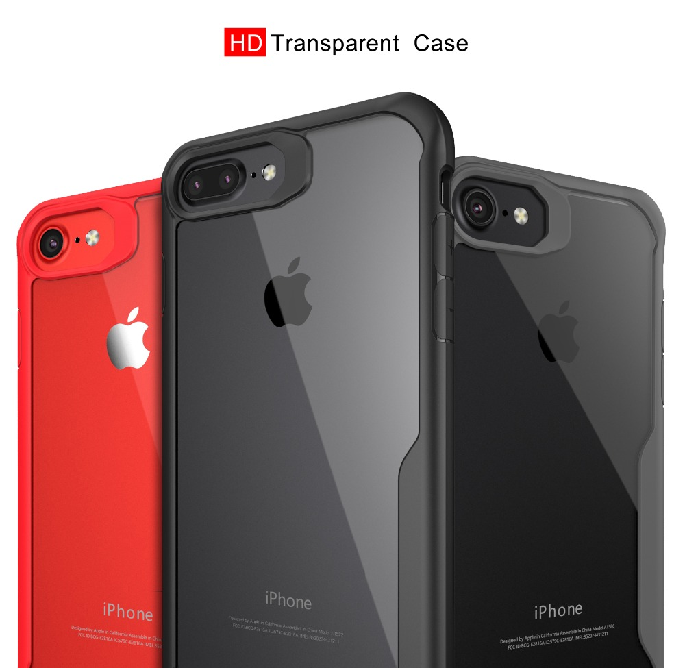HD Transparent Shockproof Clear Soft Case For iPhone 6 7 8