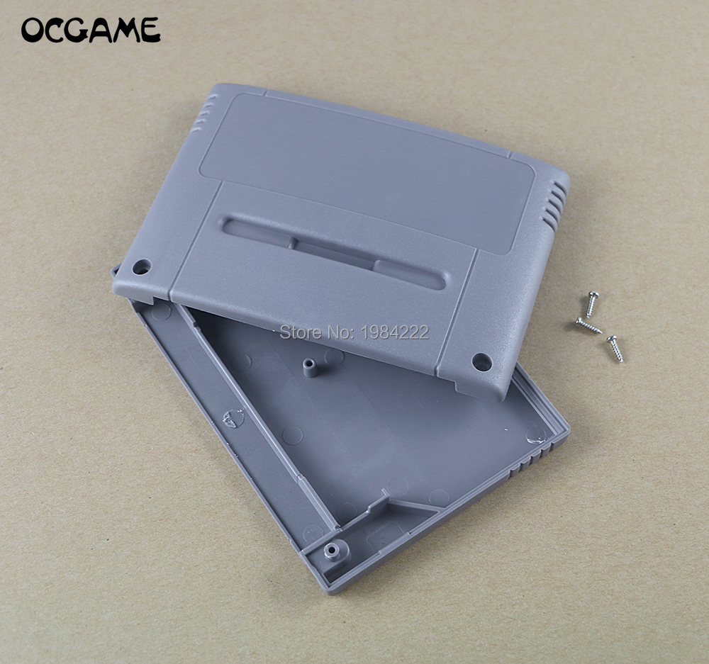 US Japan version Game Cartridge Card Plastic Shell For SNES SFC game Console card 16bit game