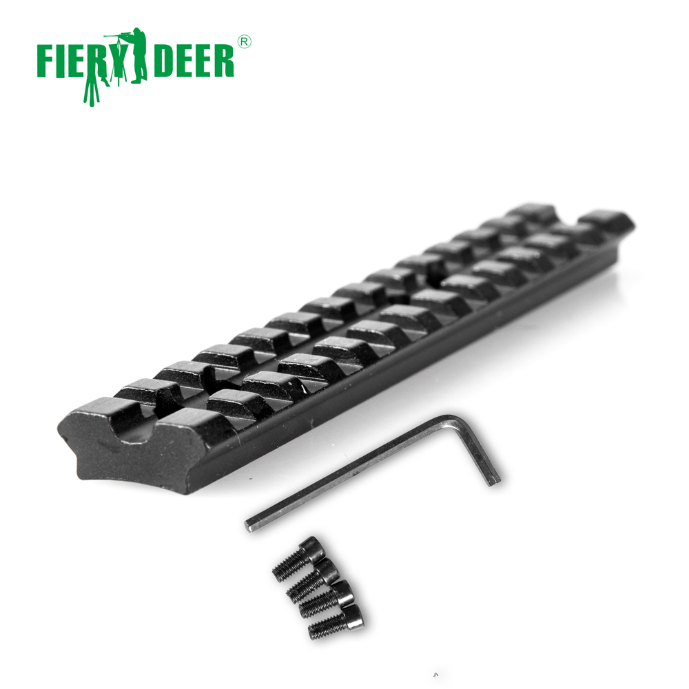 Fiery cerf portée monture adaptateur Base vis courbe fusil fond rond installer pistolet Airsoft chasse/D06