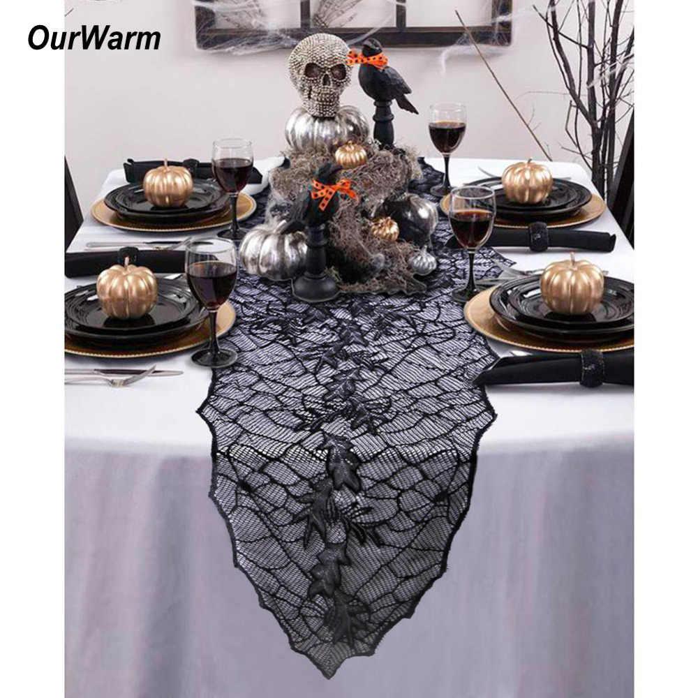 Теплый декоративный реквизит на Хэллоуин Черный Кружевной паутина на камин хэллоуин подвесной призрак страшные вечерние украшения дома с привидениями