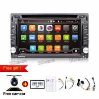 Quad Core 800 480 2 Din Android 4 4 Fit NISSAN QASHQAI Tiida Car Audio Stereo