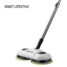 F528A Wireless Handheld Electric Mop Wiper Floor Washers With Light and Mops все цены
