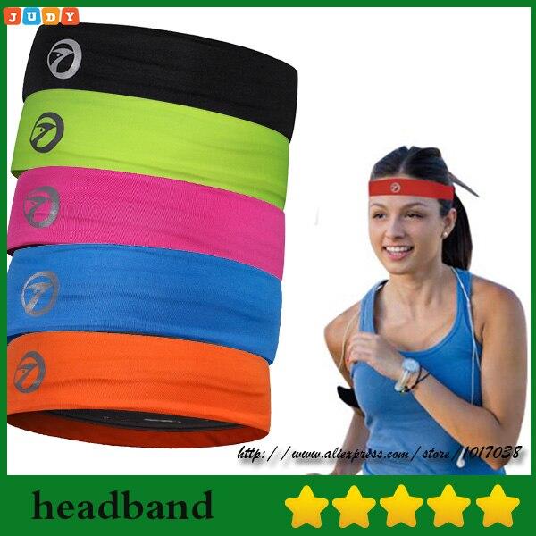 9d54db6cc095 Online Shop Basketball Tennis Sports Headband Men Women Running Fitness  Sweatband Bandana Free Shipping