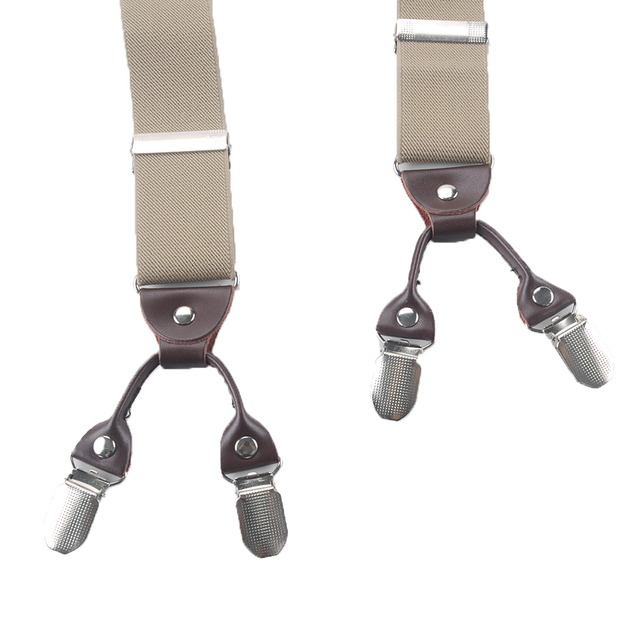 6 Clips Casual Suspenders 1