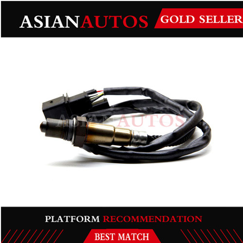 Oxygen Sensor 0258007057 <font><b>17014</b></font> LSU4.2 Wide Band O2 Sensor For 99-05 VW Jetta 1.8L-L4 021906262B 06B906265D 06B906265M image