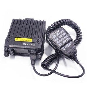 Image 2 - QYT KT 8900D الملونة جهاز مرسل ومستقبل صغير رباعية عرض مطورة من KT 8900R 25W ثنائي الموجات UHF/VHF راديو السيارة المتنقلة KT 8900D