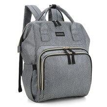 Mommore grande capacité sac à dos à couches étanche maternité voyage poussette sac à dos Nappy bébé sac à dos pour les soins de bébé
