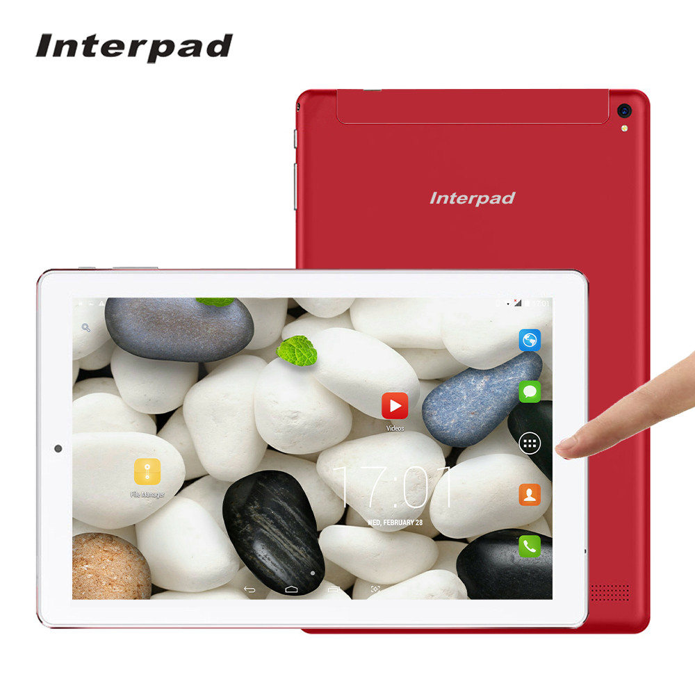 где купить Interpad 10.1 inch 4G LTE Android tablets Quad Core MTK6737 IPS 1920*1200 2GB RAM 32GB ROM wifi GPS 3G/4G Mobile phone tablet pc по лучшей цене