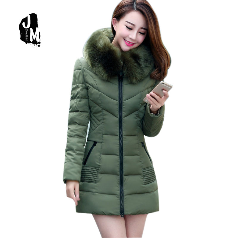2016 New Arrival None Long Solid Zipper Slim Thick Full Cotton Broadcloth Down Parkas