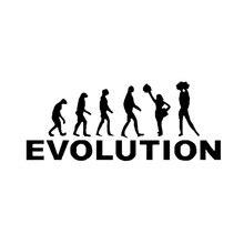 15.4*6.3 ซม.EVOLUTION Auto Body ตกแต่งรถไวนิลสติกเกอร์อุปกรณ์เสริมสำหรับ Chevrolet Aveo TRAX Cruze Honda Civic volvo