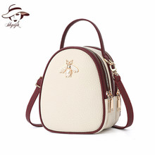 2018 Women Shoulder Bag Ladies  Women Leather Crossbody Bags Luxury Handbags Designer Bee Summer Small Commuter Bag Candy Color