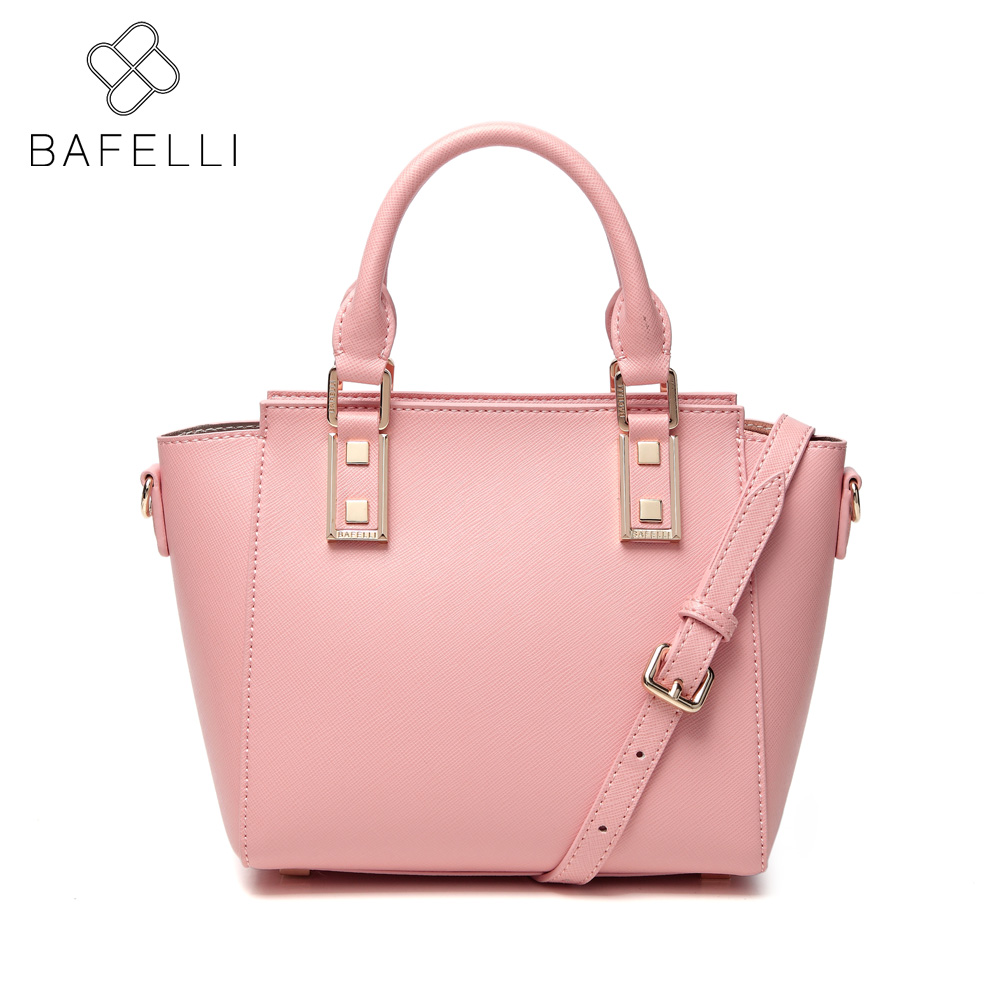 Bolsa Feminina Aliexpress : Bafelli fashion trapeze crossbody shoulder bag gold pink