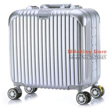 17 INCH 17 Luggage universal brake wheel landing chassis with customs really lock rod box a