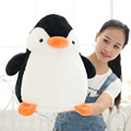 New Penguin Good Quality Lovely Animal Super Soft Cotton Filled Soft Stuffed Dolls Plush Kids Birthday Toys C13