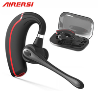 Newest B1 Business Bluetooth Earphone Stereo HandsFree Noise Reduction Bluetooth Headset Wireless Headphones With Storage Box