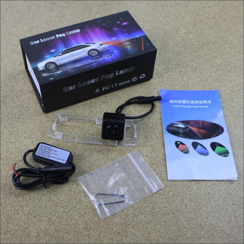 For KIA Rio JB / Rio5 / Rio Xcite 2005~2011 Car Tracing Cauda Laser Lights Collision Avoidance Warning Light Fog lamp Safe Drive