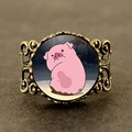 Drama Gravity Falls Mysteries BILL CIPHER WHEEL pet Waddles Steampunk toy pink pig charms 1pcs/lot mens dr who fashion ladies