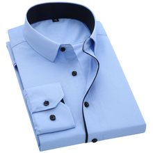 New Arrival Mens Turn-Down Collar Formal Shirts