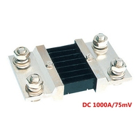Dc 1000a/75mvの電流デバイ