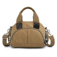 Женские сумки известного бренда Женская нейлоновая сумка однотонная