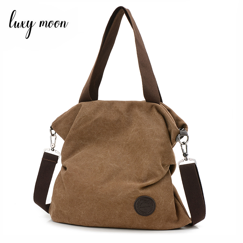 Canvas Bag Tote Women Handbags Canvas Shoulder Bags 2018 New Fashion Casual Messenger bags High Large Capacity Lady Totes ZD637 woman canvas bags casual shoulder bag fashion portable big tote female large capacity leisure handbag lady messenger bags zd622