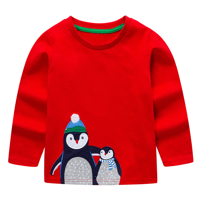 VIDMID baby Boys Tops 2018 Brand Children T shirts Boys Clothes Kids Tee Shirt Fille blouse jackets 100% Cotton Baby Boy Clothes