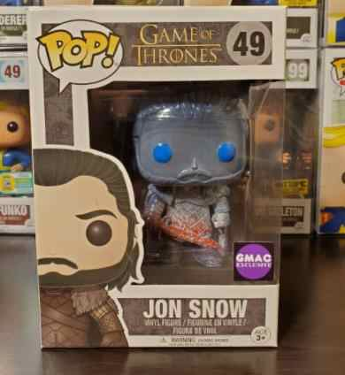 Funko POP STARK Game of Thrones JON SNOW SNASA Action Figure Collectible Modelo brinquedos para chlidren