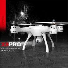 SYMA X8PRO Large-scale Remote Control Helicopter GPS Realtime Aerial Photo Aircraft Support Fixed-point Return Flight Quadcopter